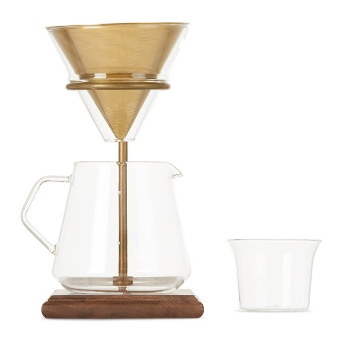 Photo: KINTO Gold Brewer Stand Set