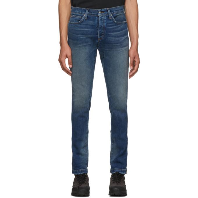 Photo: Rhude Blue Snap Jeans