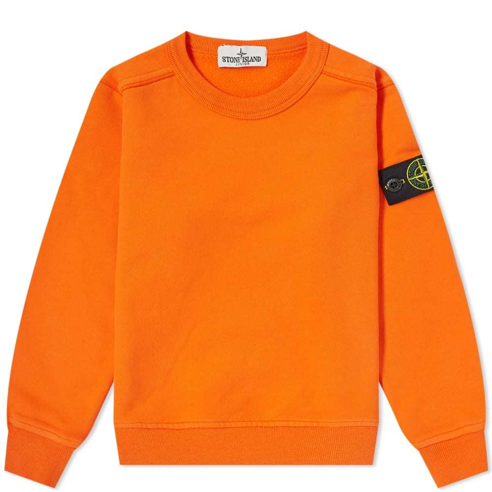 Photo: Stone Island Junior Crew Sweat Orange