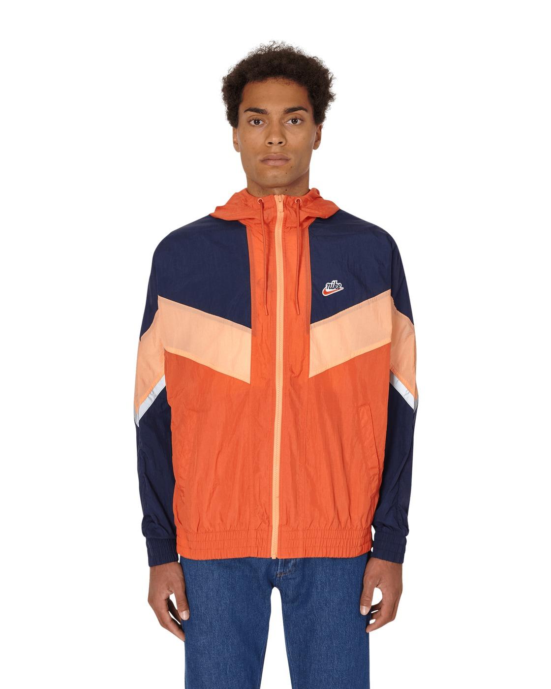 Photo: Nike Nsw Heritage Windrunner Jacket Mantra Orange/Obsidian