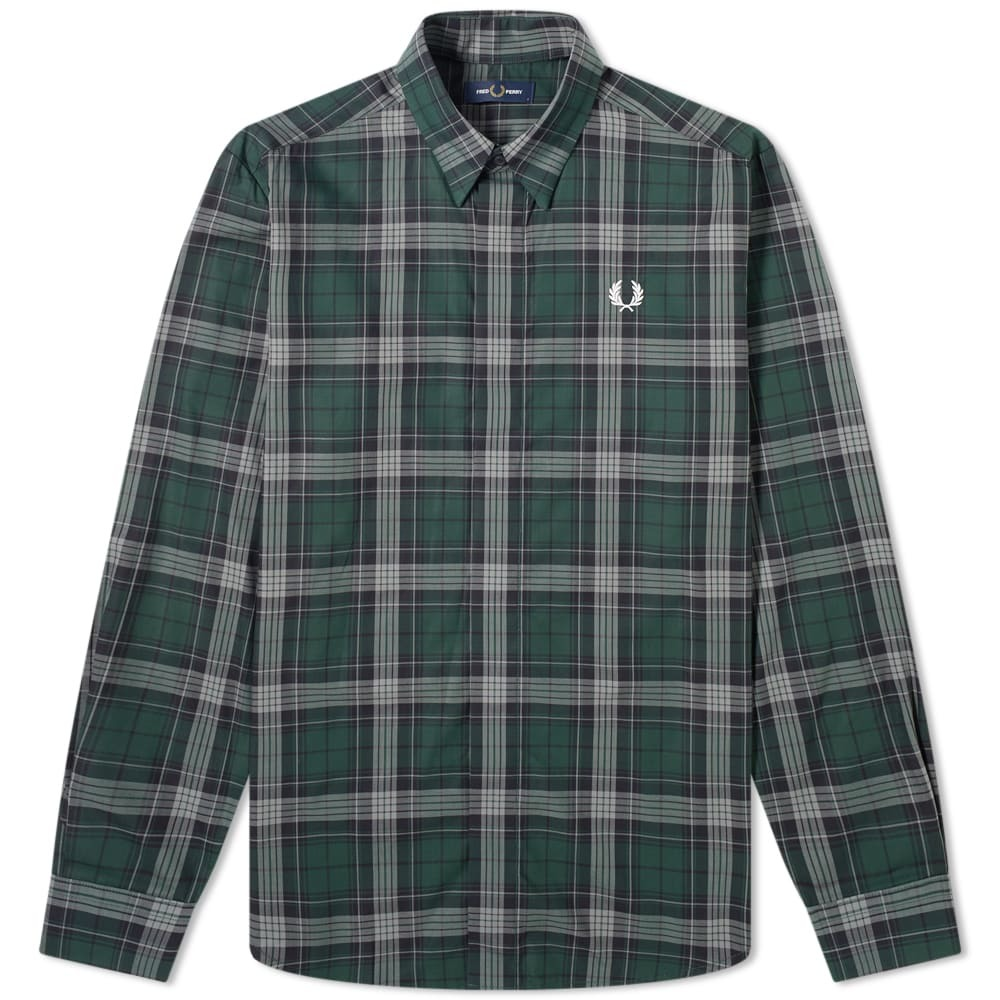 Photo: Fred Perry Authentic Tartan Shirt