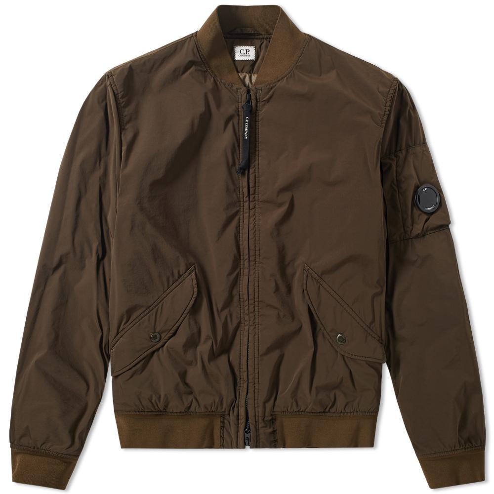 C.P. Company Garment Dyed Nycra Bomber Jacket