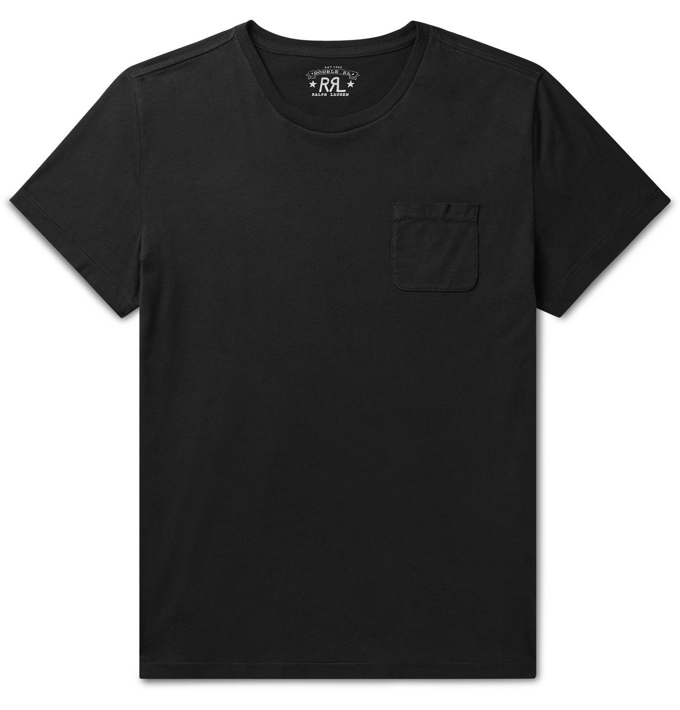 RRL - Cotton-Jersey T-Shirt - Black