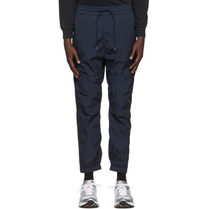 C.P. Company Navy Garment-Dyed Chrome-R Cargo Pants