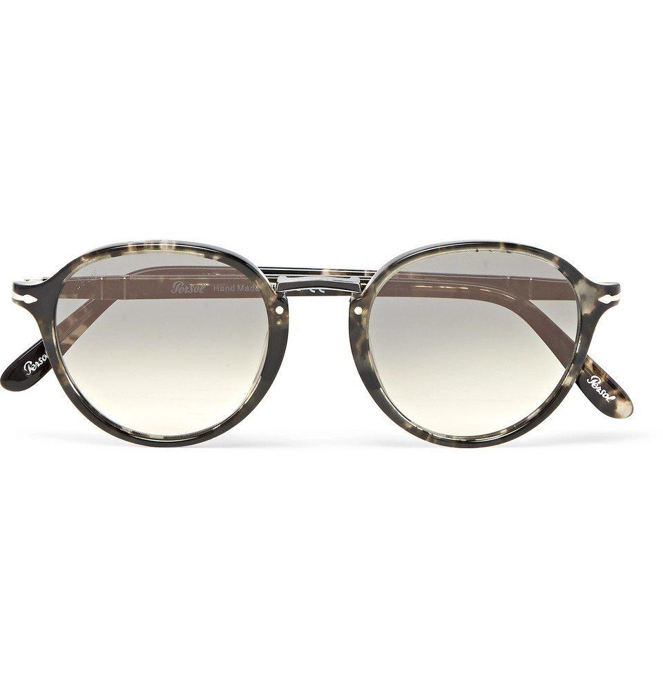 8bc4f8a7cc Photo  Persol - Round-Frame Tortoiseshell Acetate Sunglasses - Men -  Tortoiseshell