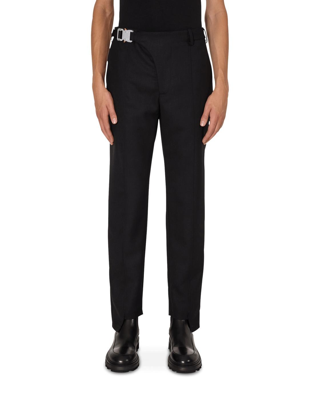 Photo: 1017 Alyx 9sm Stirrup Suit Pants Black