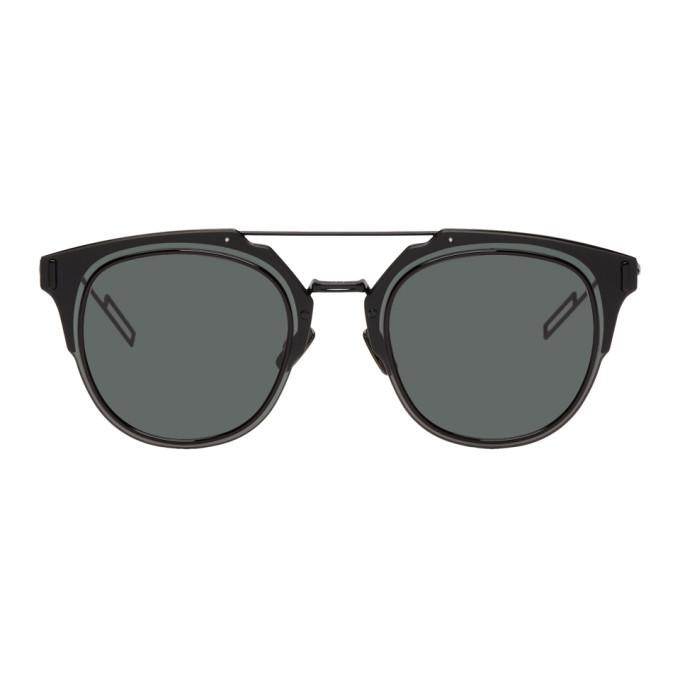 Photo: Dior Homme Black Composit 1.0 Sunglasses