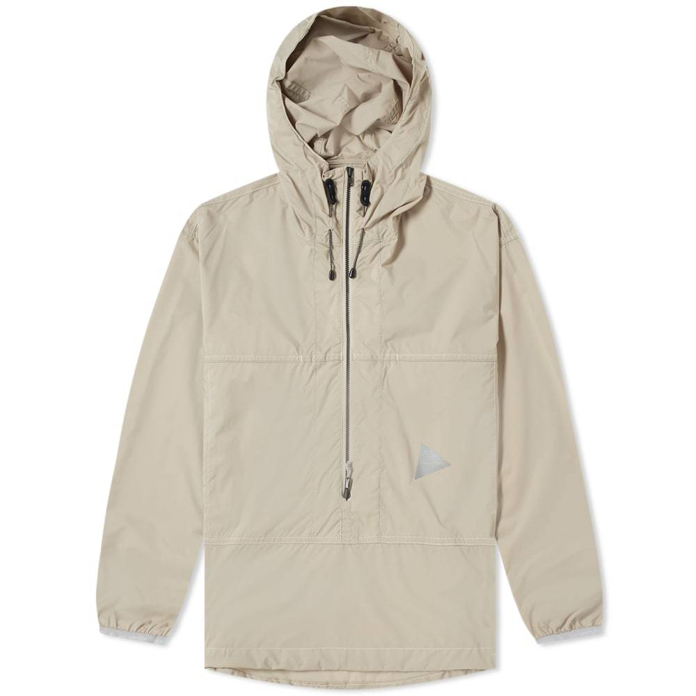 Photo: And Wander Pertex Wind Popover Jacket