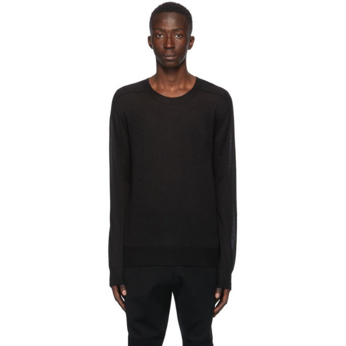 Photo: Bottega Veneta Black Cashmere Sweater
