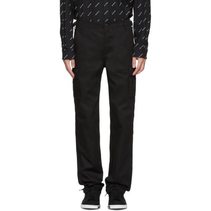 Photo: Balenciaga Black Cargo Pants