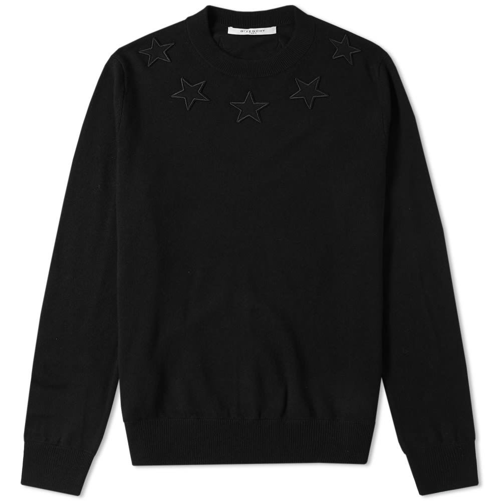 Photo: Givenchy Star Patch Crew Knit