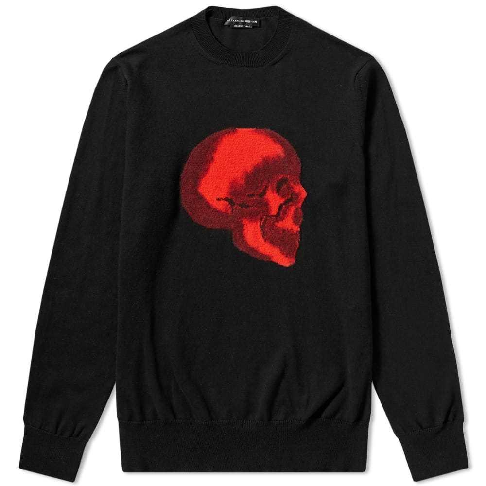 Photo: Alexander McQueen Skull Intarsia Crew Knit