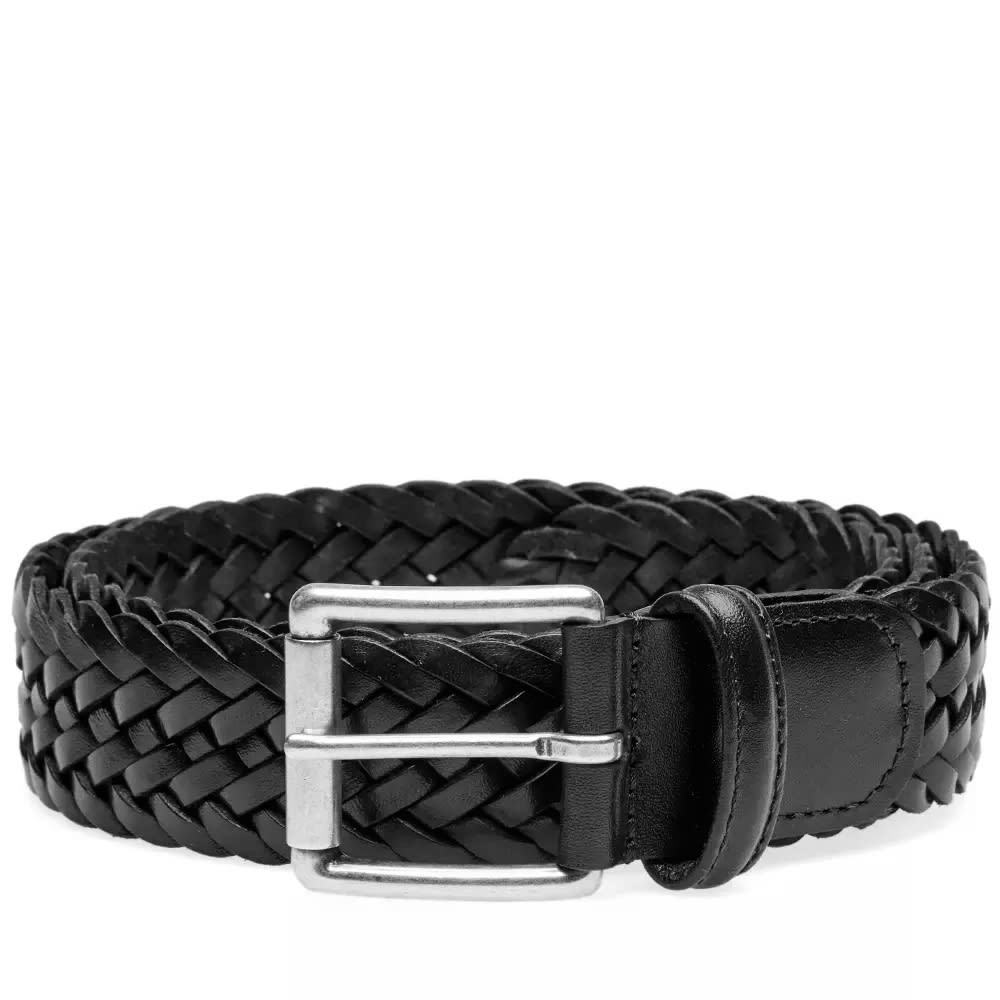 Photo: Anderson's Woven Leather Belt