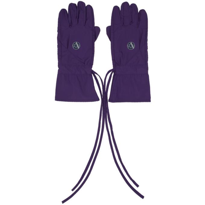 Photo: Raf Simons Purple Labo Gloves