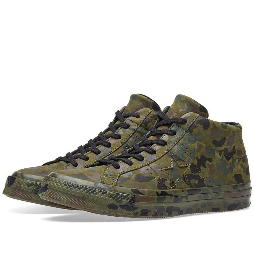premium selection 41f68 683a5 Converse One Star Mid Camo Pack Green