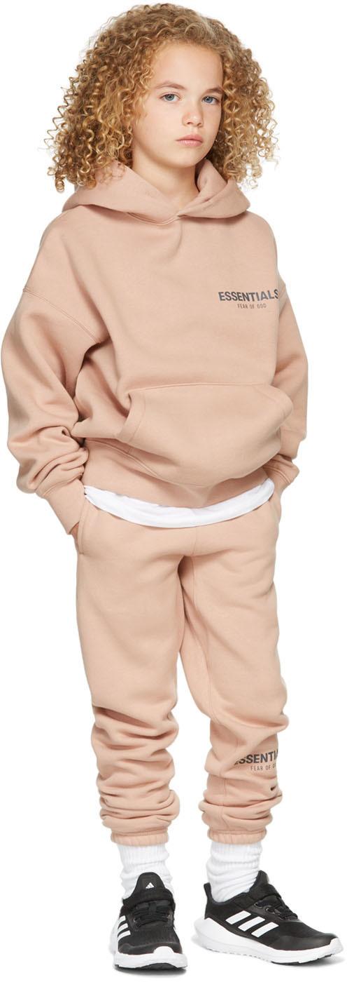 Photo: Essentials Kids Pink Fleece Hoodie