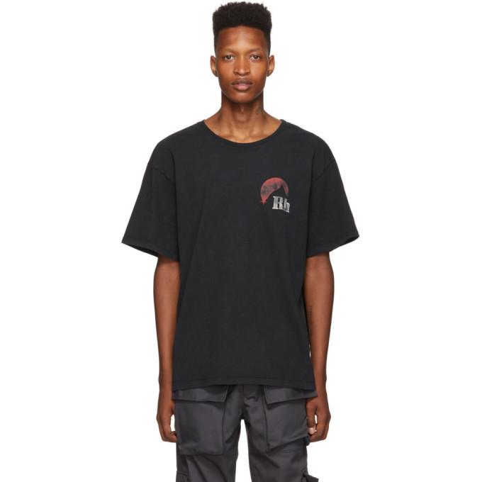 Photo: Rhude Black Moonlight Logo T-Shirt