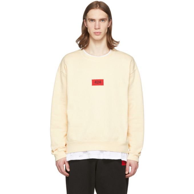 Photo: 424 Off-White 8007 Sweatshirt