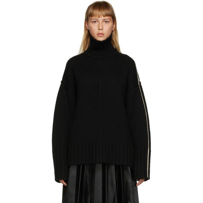 Photo: Peter Do Black Wool Oversized Sweater