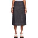 3.1 Phillip Lim Navy Organic Denim Skirt