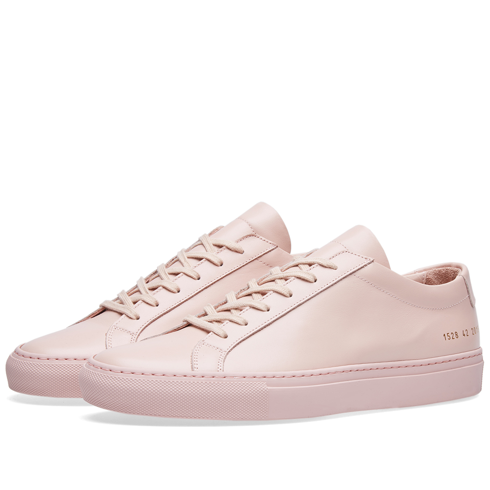 Photo: Common Projects Original Achilles Low Pink