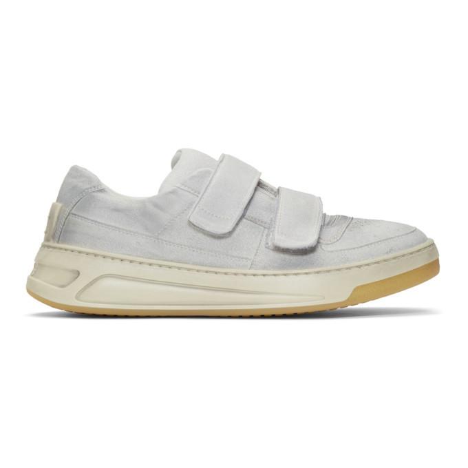 Acne Studios SSENSE Exclusive Grey Overdye Perey Sneakers