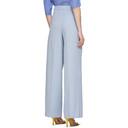 Nina Ricci Blue Long Trousers