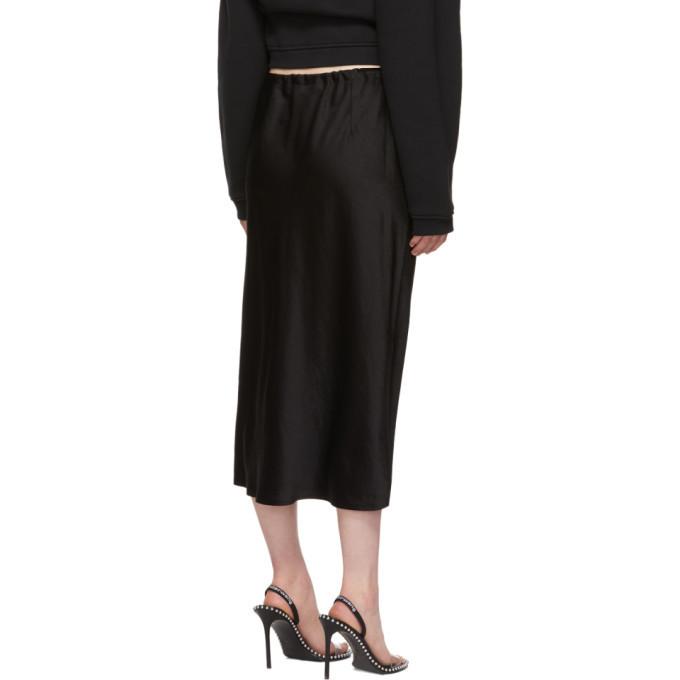 alexanderwang.t Black Wash and Go Skirt