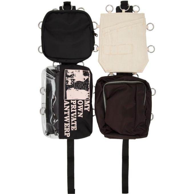 Photo: Raf Simons SSENSE Exclusive Black Eastpak Edition Loop Antwerp Backpack
