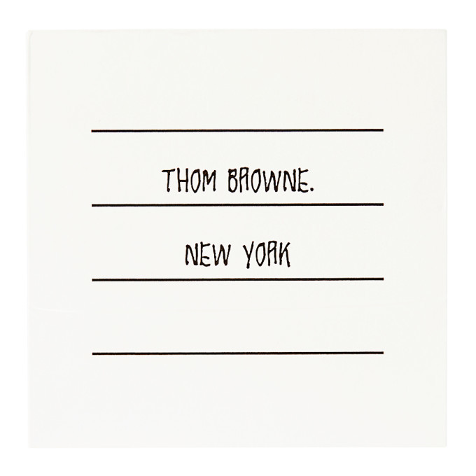 Photo: Thom Browne White Logo Post-it® Notes
