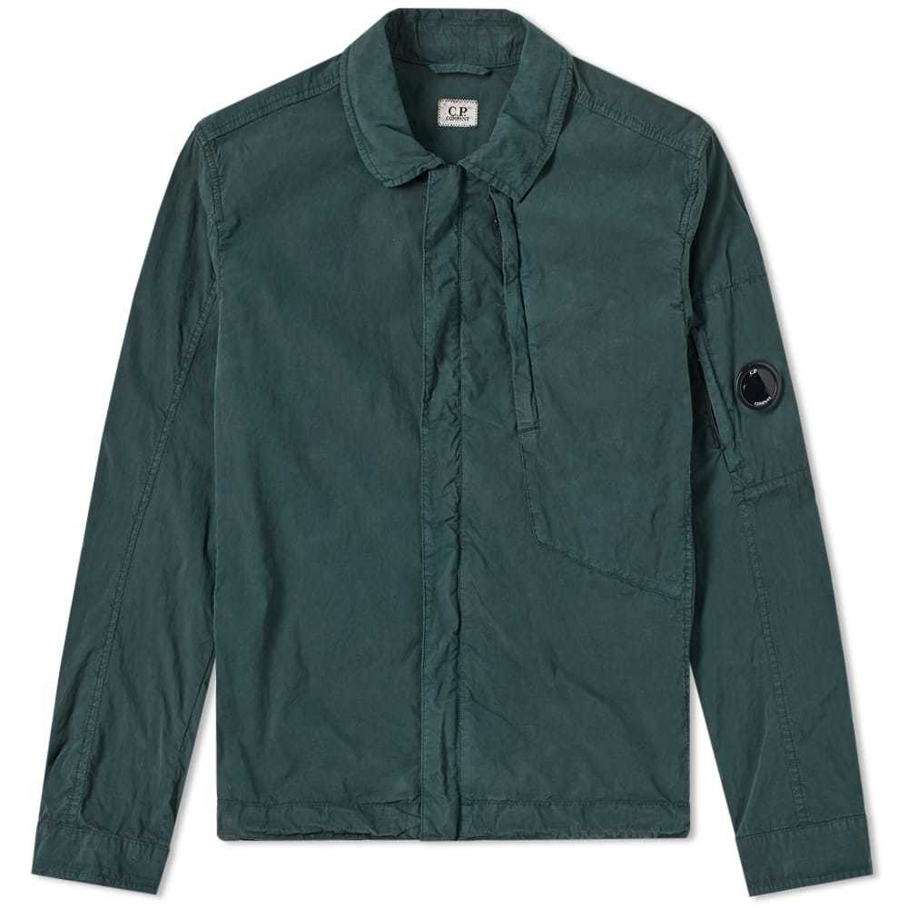 Photo: C.P. Company Goggle Zip Shirt Green