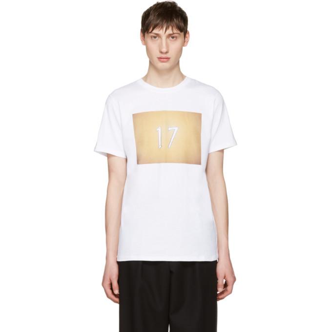 Photo: A.P.C. White Seventeen T-Shirt