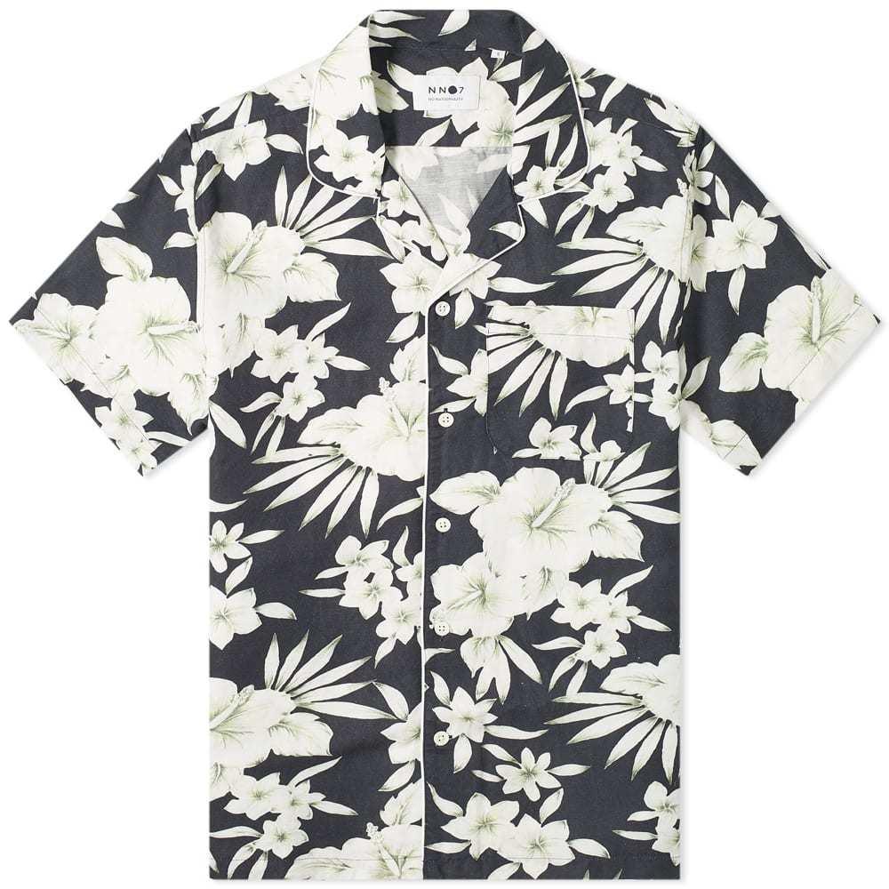 Photo: NN07 Paris Floral Printed Vacation Shirt