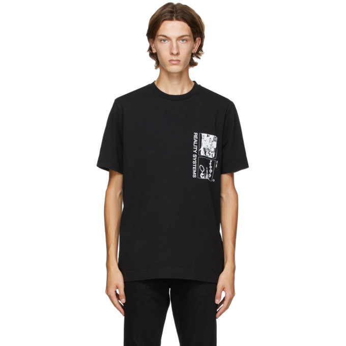 Photo: 1017 ALYX 9SM Black Grid T-Shirt