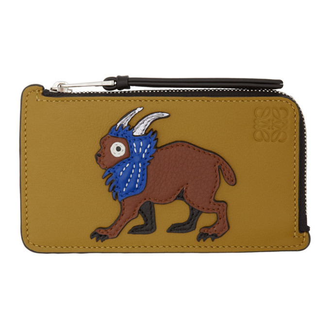 Photo: Loewe Yellow William De Morgan Patch Coin Cardholder