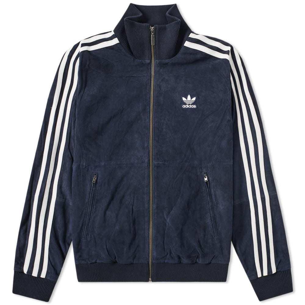 Adidas Suede Track Jacket