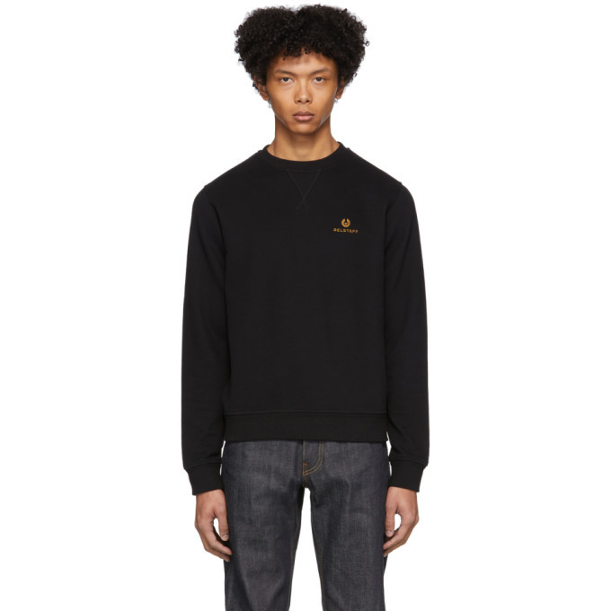 Photo: Belstaff Blanc Embroidered Logo Sweatshirt