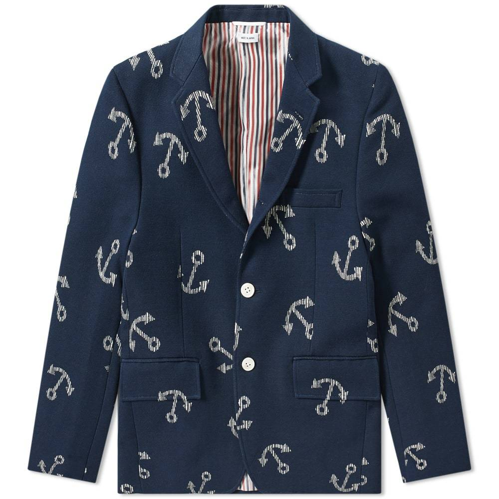 Photo: Thom Browne Unconstructed Anchor Blazer