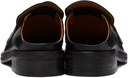 Martine Rose SSENSE Exclusive Black Slip-On Martine Loafers