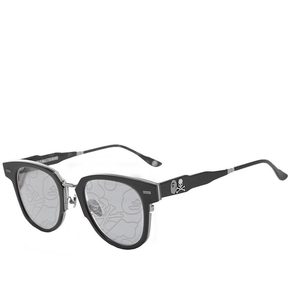 Photo: A Bathing Ape Eyewear x MASTERMIND WORLD BMJ002 V2.0 Sunglasses