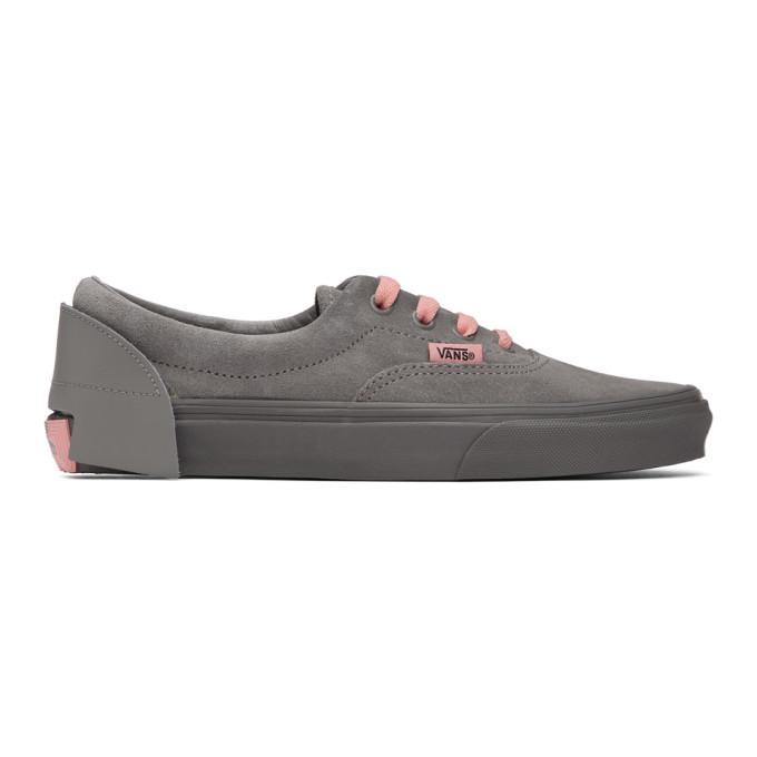 Photo: Vans Grey Zhou Zhou Edition Year Of The Rat Era Sneakers