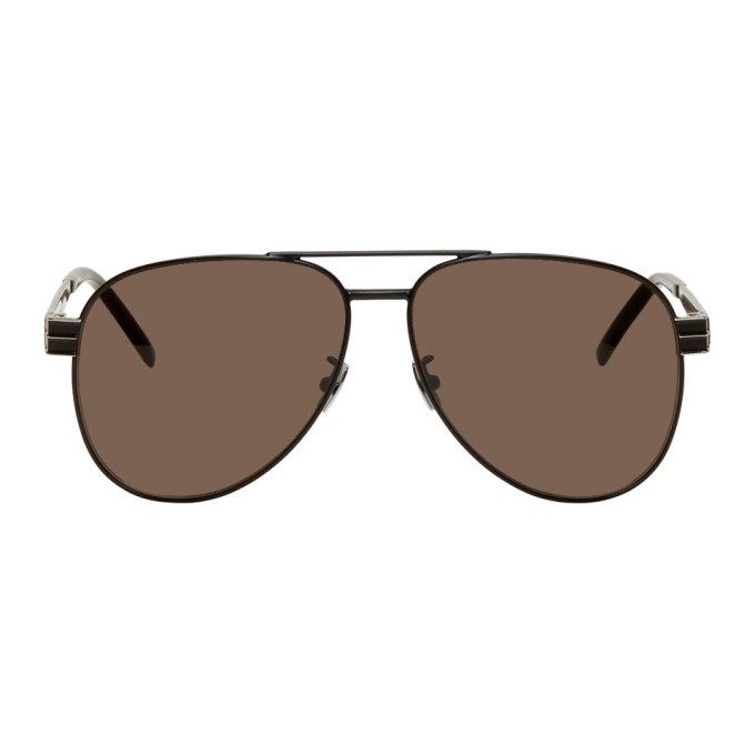 Photo: Saint Laurent Black SL M53 Sunglasses