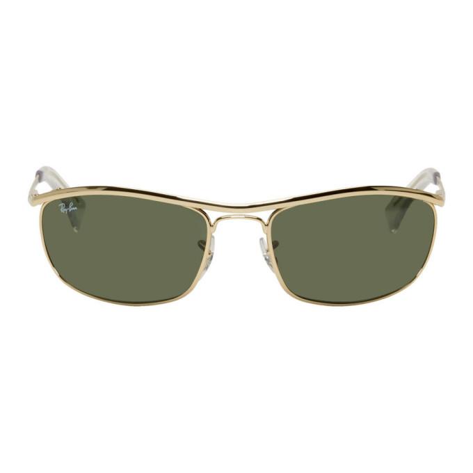 Photo: Ray-Ban Gold Metal Arista Sunglasses