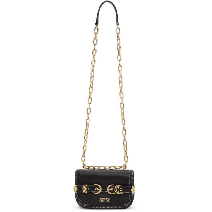 Photo: Versace Jeans Couture Black Mini Multirings Bag