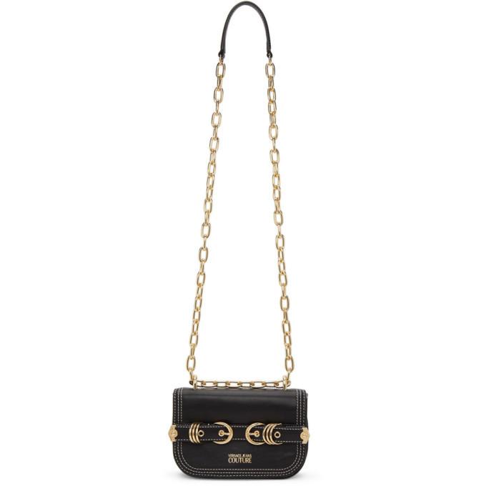 Photo: Versace Jeans Couture Black Mini Multirings Bag