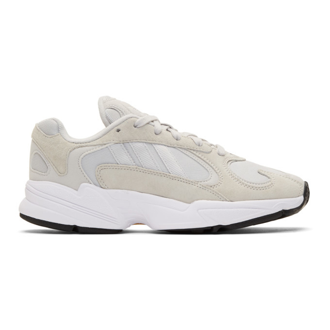 Photo: adidas Originals Grey Yung-1 Sneakers