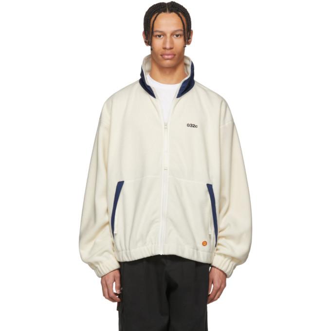 Photo: 032c White WWB Fleece Jacket