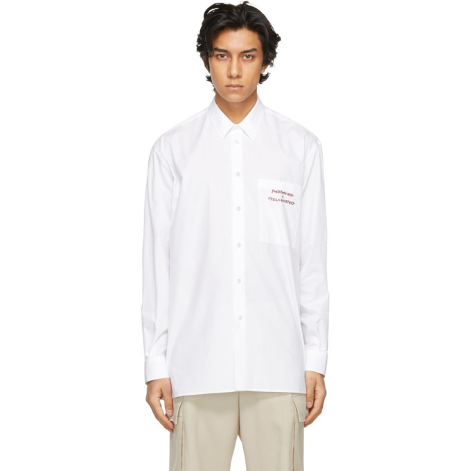 Photo: Stella McCartney White Yoshitomo Nara Edition New Saul Shirt