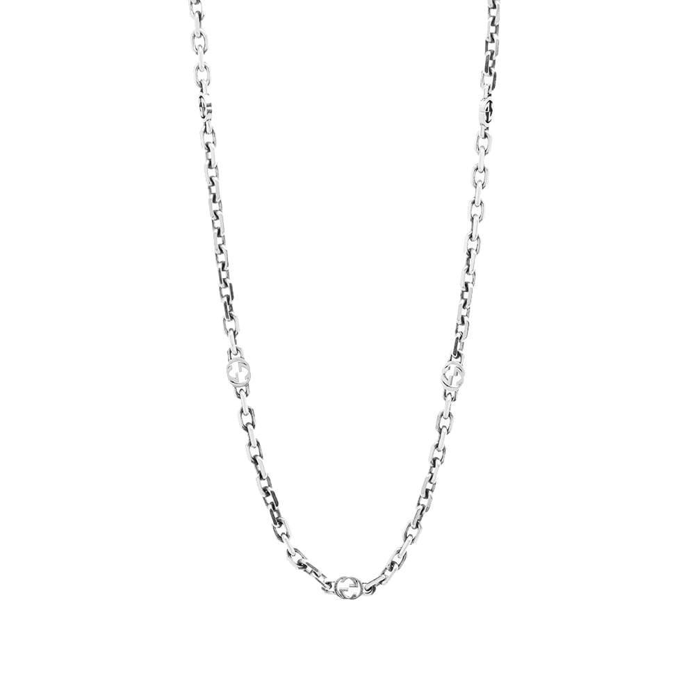 Photo: Gucci Interlocking G 60cm Necklace