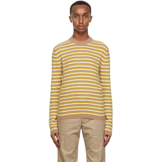 Photo: Marni Beige Striped Sweater